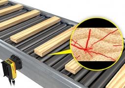 Cognex проверка на повърхността на дървесината