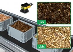 Cognex класифициране на видовете дървени стърготини